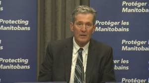 Coronavirus: Manitoba to recruit enforcement workers through G4S Security (01:09)