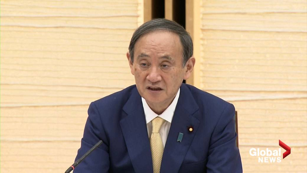 Click to play video: 'COVID-19: Japan PM declares state emergency in Tokyo ahead of Olympics'