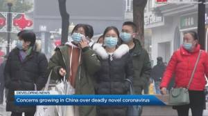 Concerns growing in China over deadly coronavirus