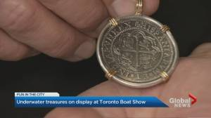 Discover treasures from real-life treasure hunter at Toronto Boat Show