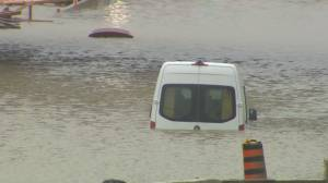 3 rescued from flooded vehicles in Mississauga after overnight downpour