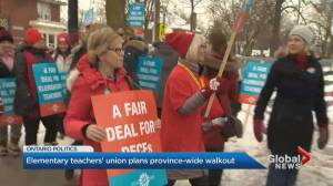 ETFO plans province-wide walkouts