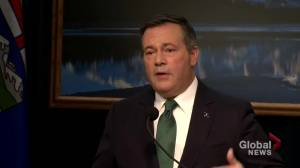 Throne speech represented 'a full-frontal attack on Canadian federalism': Alberta Premier Jason Kenney (01:26)