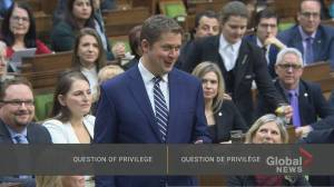 Scheer tells Trudeau he'll get 'no free rides' as Conservatives search for new leader