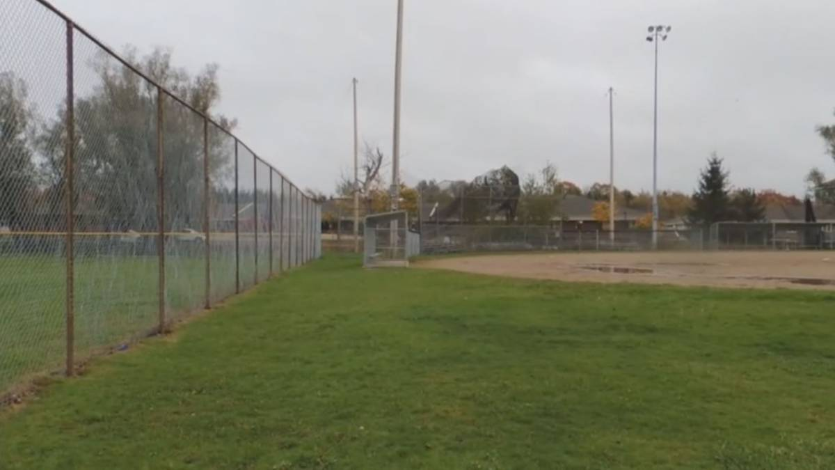 Click to play video: 'Local youth baseball association gets grant from Toronto Blue Jays'
