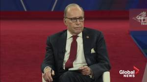 Larry Kudlow says coronavirus won't sink the economy, but socialism could