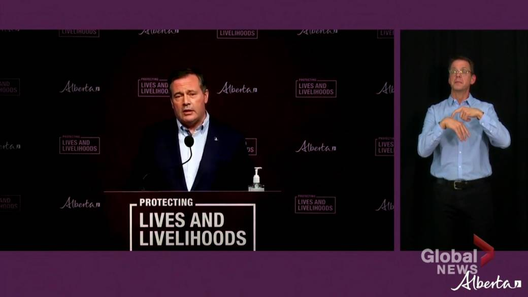 Click to play video: 'Alberta premier announces targeted COVID-19 restrictions in 'hot spots''