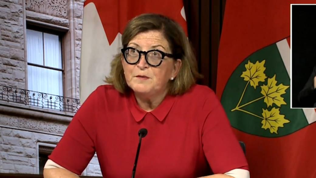 Ontario health officials provide update on COVID-19 school screening tool'