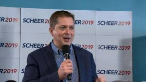 "Scheer vows to repeal ""carbon tax,"" remove HST/GST on home utility costs"