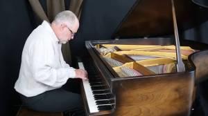 Composer and pianist Tim Nast Visits Global News Morning