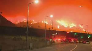 California battles several major wildfires