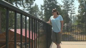 West Kelowna residents return home grateful to Mount Law firefighters for saving their homes (01:55)