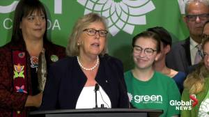 2019 Federal Election: May says this election is about telling Canadians climate change is 'serious'