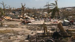 Hurricane Dorian: Survivors in Bahamas search rubble for what's left