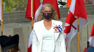 Throne speech: Governor General Julie Payette arrives on Parliament Hill