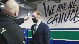 Canucks vs. COVID-19: Vancouver's outbreak affects all of NHL (02:29)