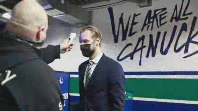 Click to play video: Canucks vs. COVID-19: Vancouver's outbreak affects all of NHL