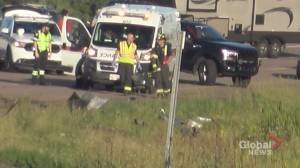 3 dead, 2 injured in highway crash on southern New Brunswick highway