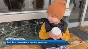 2-year old impacting lives of seniors at Toronto retirement residence (03:51)