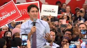 Federal Election: Trudeau recognizes his father's 100th birthday