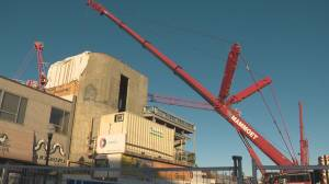 Roxy Theatre in Edmonton reaches new construction milestone (01:51)