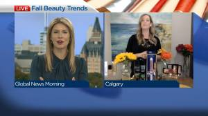 Fall beauty and makeup trends (04:25)