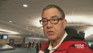 City councillor Tim Stevenson returns from Sochi