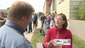 One-on-one with Alison Redford