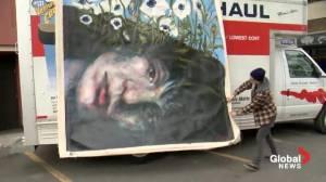 Murder victims remembered through art