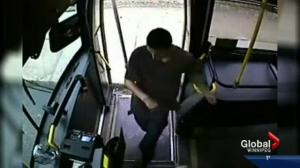 Police release surveillance video of attack on bus driver