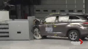 Crash Test Results In: GM no dummy engineering for this  kind of mishap.