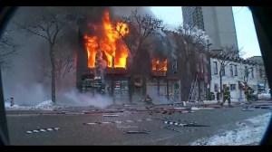 Multiple injuries in building explosion in Minneapolis