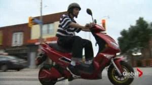 Toronto Police blitzing E-bike riders