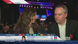 Decision Quebec: Christian Lessard in St. Felicien