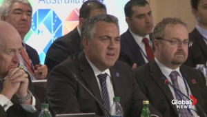 Australian Treasurer Joe Hockey on Flaherty passing