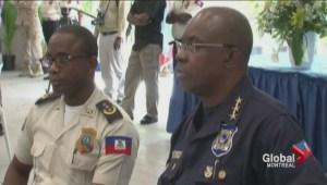 Montreal officers honoured in Haiti