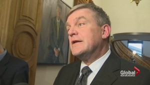 David Alward 'very disappointed' by Redford's resignation