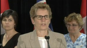 Wynne comments on Ornge helicopter crash