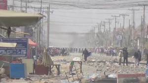 Raw video: Police open fire on striking garment workers in Cambodia