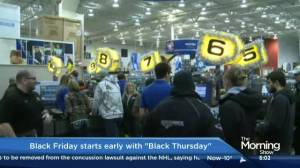 Black Friday in Toronto