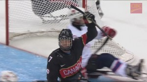 Team Canada beats Norway to stay undefeated in sledge hockey