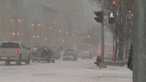 Snow storm hits Winnipeg
