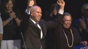 Newark mayor Cory Booker wins US Senate seat