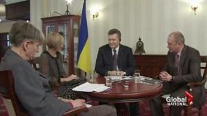 Yanukovych backtracks on Crimea