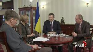 Yanukovych backtracks on Crimea