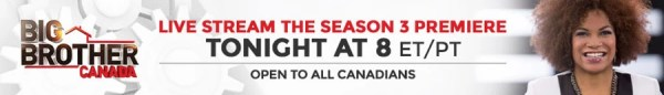Watch a live stream of the Big Brother Canada season premiere