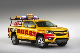 2015 Chevrolet Colorado Show Truck