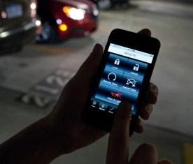 OnStar RemoteLink smartphone application