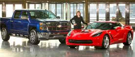 Chevy Sweeps NACTOY Silverado and Corvette