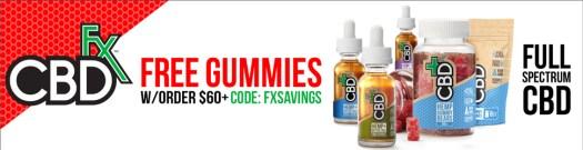 6_CBDfx_BILLBOARD_Mantis_FREEGUMMIES_FXSAVINGS Customers use CBD hemp oil for anxiety relief